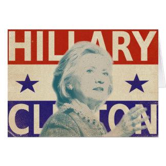 Tarjeta 2016 de felicitación de la elección de
