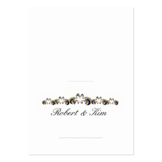 Tarjeta 2 1/2 del lugar del boda x 3 1/2 - tarjetas de visita