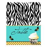 Tarjeta 2 de la tabla de la abeja del cumpleaños flyer personalizado