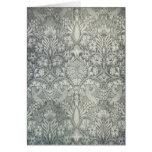 Tarjeta 2 del arte del diseño de la tela de Willia