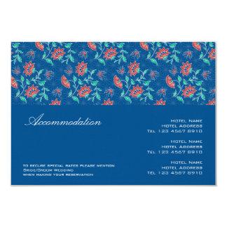 Tarjeta 2 del recinto del boda de Aiyana Invitación 8,9 X 12,7 Cm