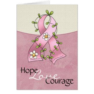 Tarjeta 2 del valor del amor de la esperanza de la