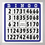 Tarjeta 3 del bingo poster
