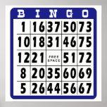 Tarjeta 4 del bingo poster