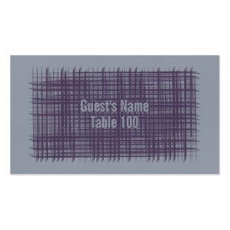 Tarjeta 4 del lugar de la pizarra y del añil tarjetas de visita