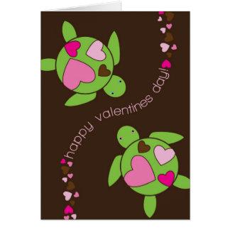 Tarjeta 4 x 5,6 del día de San Valentín del amor d