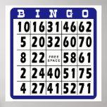 Tarjeta 6 del bingo impresiones