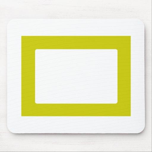 tarjeta 7X5 con el oro interior redondo de Conors  Tapetes De Ratones