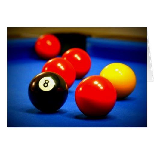 tarjeta 8-Ball