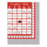 Tarjeta 9 del bingo de la fiesta de bienvenida al