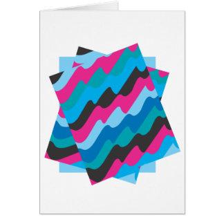 Tarjeta abstracta de la vertical de Seaworth