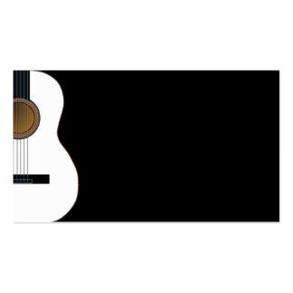 Tarjeta adaptable de la industria musical de la gu tarjetas de visita