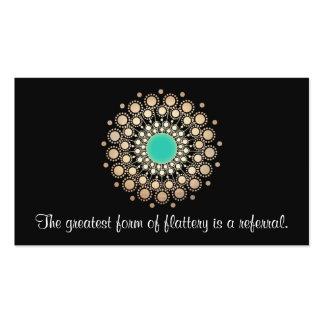 Tarjeta adornada del oro y de la remisión de la tarjetas de visita