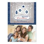 Tarjeta agraciada del día de fiesta de la familia invitación 12,7 x 17,8 cm