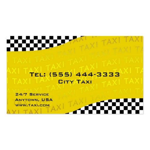 Tarjeta amarilla de la empresa de servicios del ta plantillas de tarjetas personales