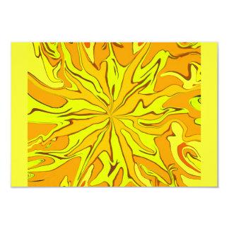 tarjeta amarilla del rsvp anuncio