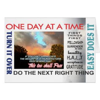 tarjeta aniversary 16rev de los lemas de la