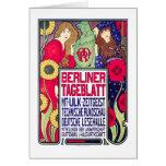 Tarjeta: Anuncio del vintage - Berlliner Tageblatt