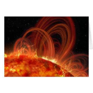 Tarjeta ardiente de Sun