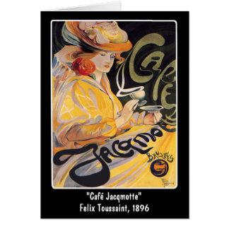Tarjeta:  Arte Nouveau Café