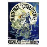 Tarjeta: Arte Nouveau: Ciclos del vintage: