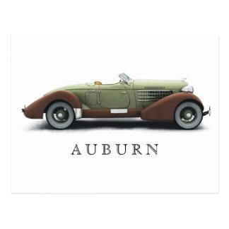 Tarjeta Auburn_851 Tarjeta Postal