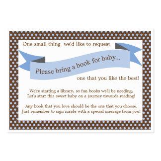 Tarjeta azul de la petición del parte movible del tarjetas personales