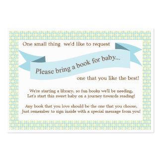 Tarjeta azul de la petición del parte movible del tarjeta de negocio