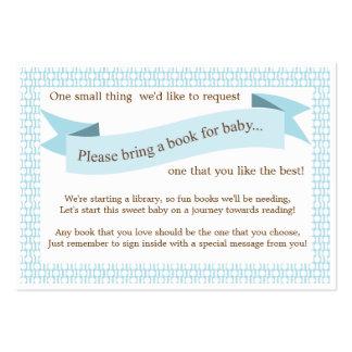 Tarjeta azul de la petición del parte movible del plantillas de tarjetas de visita