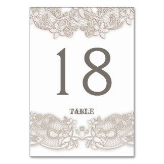 Tarjeta blanca de la tabla del diseño floral del c