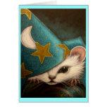 Tarjeta BLANCA del MAGO de RAT/MICE/MOUSE