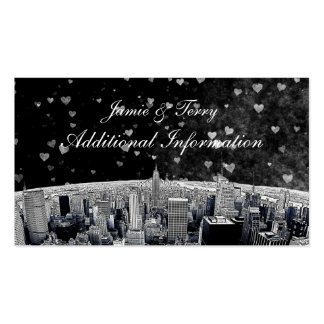 Tarjeta blanca negra grabada al agua fuerte del pa tarjetas de visita
