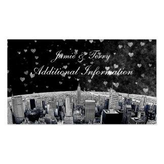 Tarjeta blanca negra grabada al agua fuerte del tarjetas de visita