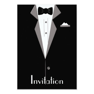 Tarjeta blanco y negro de la invitación del arte