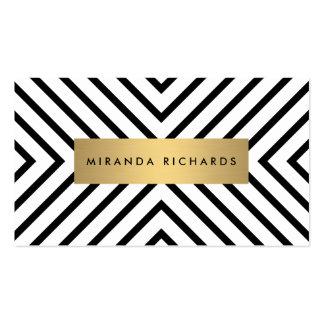 Tarjeta blanco y negro de lujo de la cita del tarjetas de visita