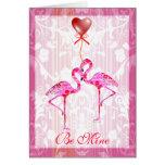 Tarjeta bonita de la tarjeta del día de San Valent