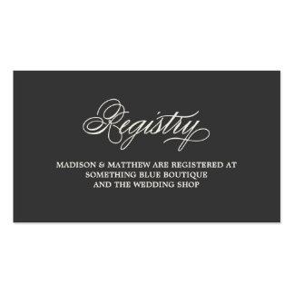 Tarjeta botánica del registro del encanto el | tarjetas de visita