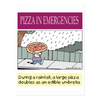 tarjeta-c de la pizza postales