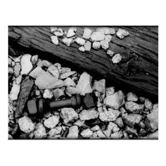 Tarjeta - camino rocoso postal