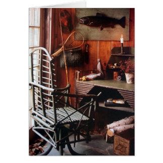 Tarjeta - campo Maine: Muebles y accesorios rústic
