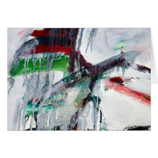 tarjeta-carámbanos por K Borkowski-Byrne Tarjeta De Felicitación