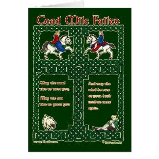 Tarjeta céltica, milla Failte #2 de Cead