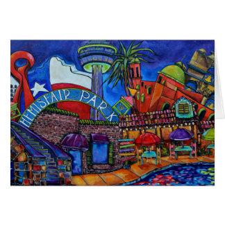 tarjeta céntrica de San Antonio