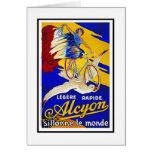 Tarjeta:  Ciclos de Alcyon - bicicletas del vintag