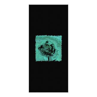 Tarjeta color de rosa metálica del estante tarjetas publicitarias personalizadas