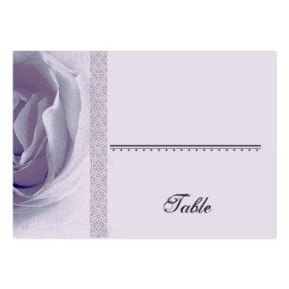 Tarjeta color de rosa PÚRPURA suave del lugar - ba Tarjetas De Visita Grandes