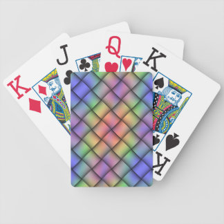 Tarjeta coloreada del arco iris elegante - armadur cartas de juego