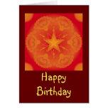 Tarjeta colorida del diseño/de cumpleaños