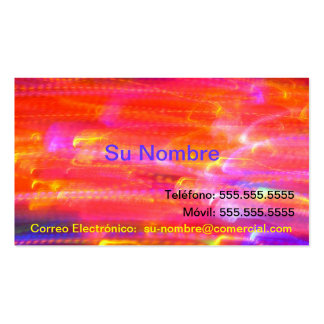 Tarjeta Comercial - multicolor Tarjeta Personal
