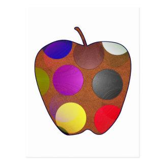 Tarjeta con manzana
